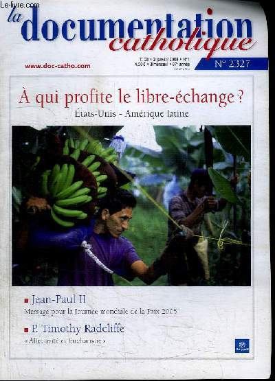 LA DOCUMENTATION CATHOLIQUE - N°2327 - JANVIER 2005