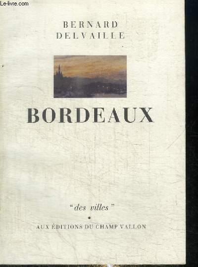 BORDEAUX - COLLECTION DES VILLES