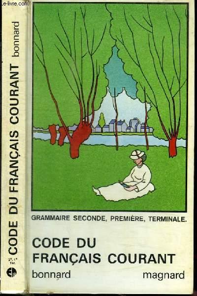 CODE DU FRANCAIS COURANT