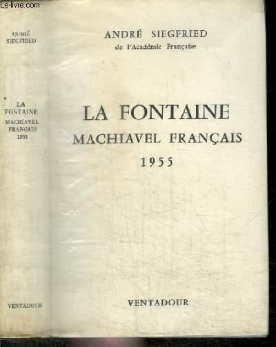 LA FONTAINE MACHIAVEL FRANCAIS 1955