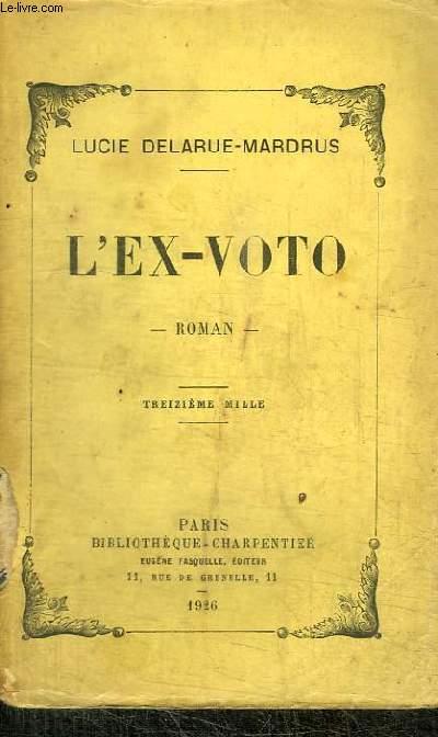 L'EX-VOTO