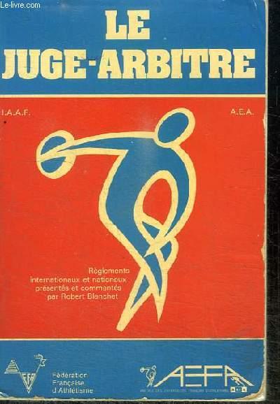 LE JUGE-ARBITRE
