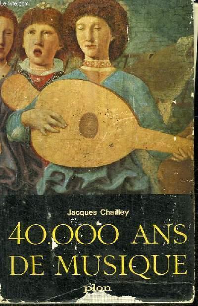 40 000 ANS DE MUSIQUE