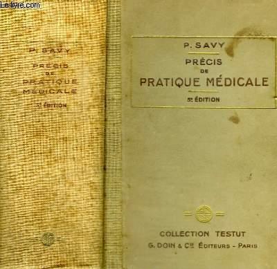 PRECIS DE PRATIQUE MEDICALE