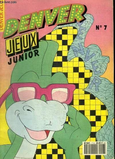 DENVER JEUX JUNIOR N°7