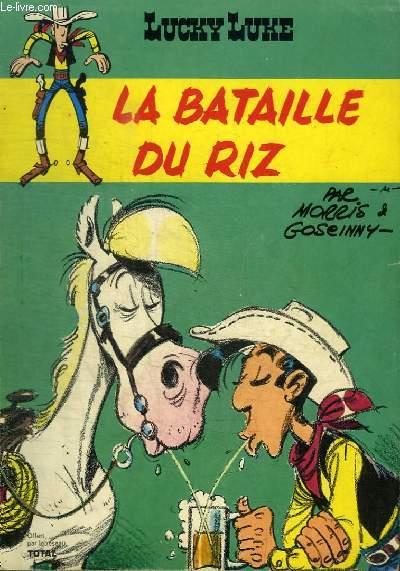 LUCKY LUKE : LA BATAILLE DU RIZ