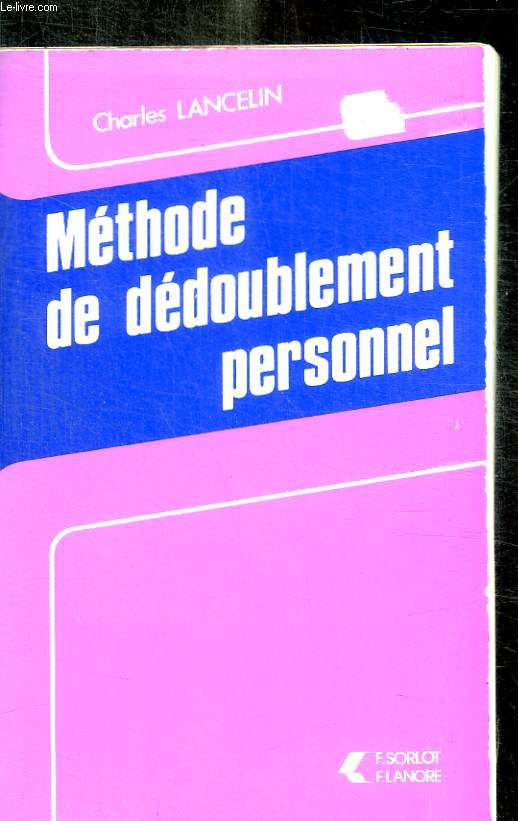 METHODE DE DEDOUBLEMENT PERSONNEL