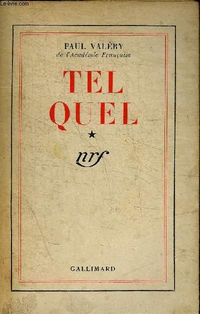 TEL QUEL - CHOSES TUES - MORALITES - LITTERATURE - CAHIER B