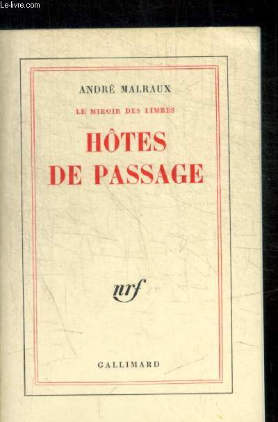 LE MIROIR DES LIMBES - HOTES DE PASSAGE