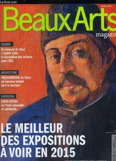 BEAUX ARTS MAGAZINE - N° 367 -JANVIER  2015
