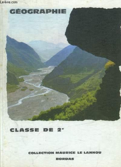GEOGRAPHIE - CLASSE DE 2E