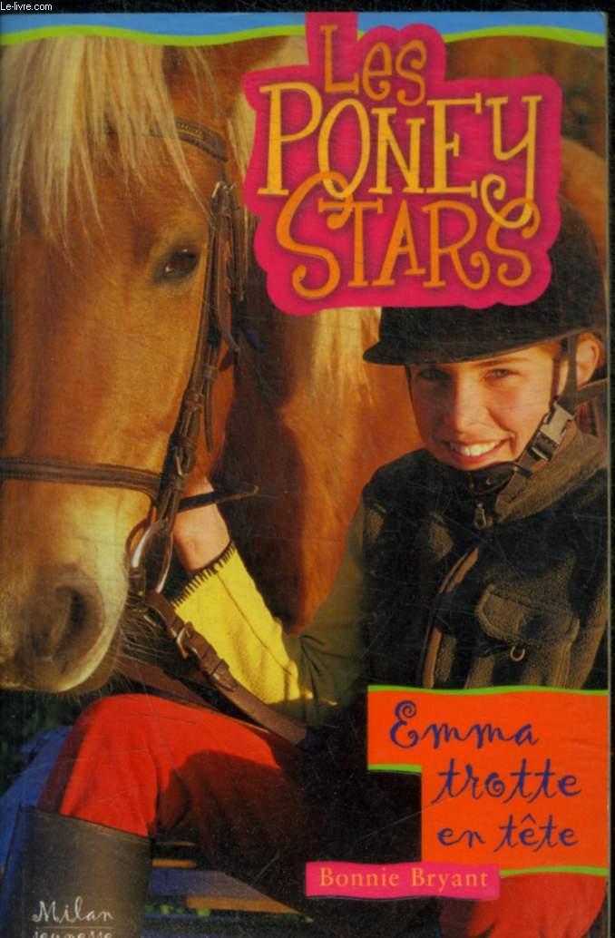 LES PONEY STARS - EMMA TROTTE EN TETE