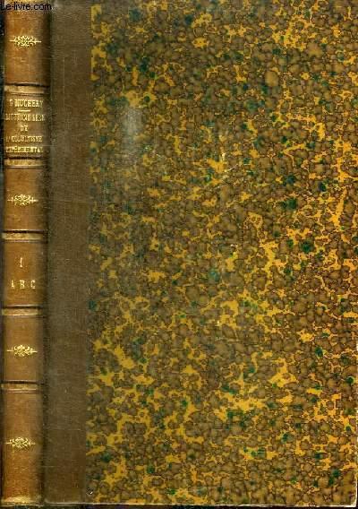 GRAND DICTIONNAIRE DE L'OCCULTISME EXPERIMENTAL - TOME 1 - LETTRES A. B. C.