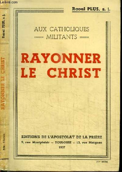 RAYONNER LE CHRIST