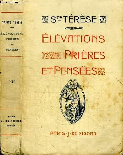 ELEVATIONS PRIERES ET PENSEES