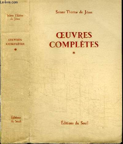 OEUVRES COMPLETES - TOME 1