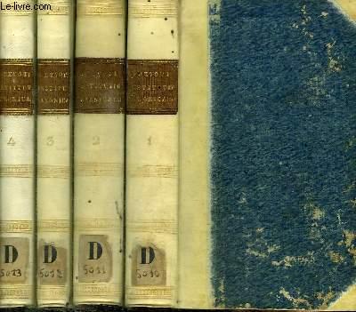 DEI ET APOSTOLICAE SEDIS GRATIA EPISCOPI OLIM ANANIENSIS NUNC ARCHIEPISCOPI CHARTAGINIENSIS INSTITUTIONUM CANONICARUM - LIBRI IV - 4 TOMES EN 4 VOLUMES (TOMUS PRIMUS + TOMUS SECUNDUS + TOMUS TERTIUS + TOMUS QUARTUS)