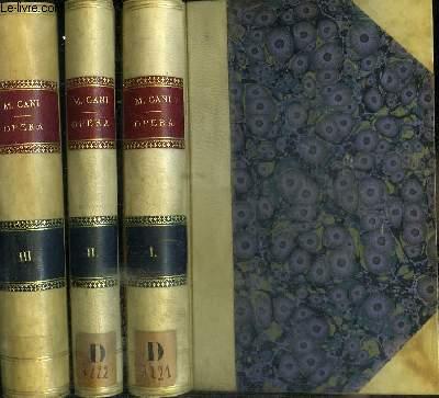 EPISCOPI CANARIENSIUM EX ORDINE PRAEDICATORUM OPERA - 3 TOMES EN 3 VOLUMES (VOLUMEN PRIMUM + VOLUMEN SECUNDUM + VOLUMEN TERTIUM)