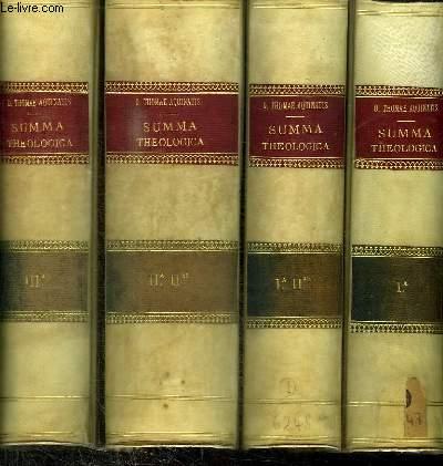 DIVI THOMAE AQUINATIS - SUMMA THEOLOGICA - 3 TOMES EN 5 VOLUMES (TOME Ia + Ia-IIae + IIa-IIae + IIIa + IIIa sp)
