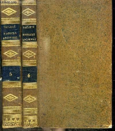 ABREGE DE L'HISTOIRE ANCIENNE DE ROLLIN - 2 TOMES EN 2 VOLUMES (TOME 4+5)