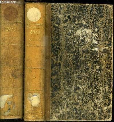 OEUVES COMPLETES DE MASSILLON EVEQUE DE CLERMONT, L'UN DES QUARANTE DE L'ACADEMIE FRANCAISE - SERMONS POUR LE CAREME - 2 TOMES EN 2 VOLUMES (TOME 3+4)