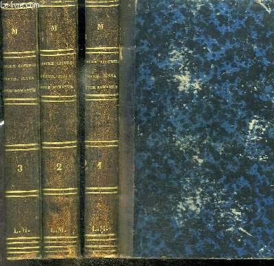 SACRAE LITURGIAE PRAXIS, JUXTA RITUM ROMANUM, IN MISSAE CELEBRATIONE, OFFICII RECITATIONE ET SACRAMENTORUM ADMINISTRATIONE SERVANDA - 3 TOMES EN 3 VOLUMES (TOMUS 1+2+3) - TOMUS 1 : COMPLECTENS RUBRICAS GENERALES MISSALIS ET RITUS SERVANDOS IN CELEBRATIONE