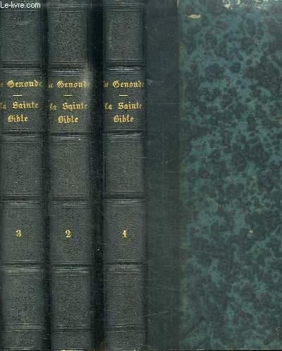 LA SAINTE BIBLE - 3 TOMES EN 3 VOLUMES (TOME 1+2+3)