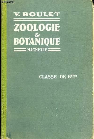 ZOOLOGIE ET BOTANIQUE