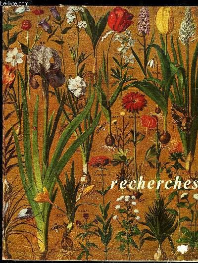 RECHERCHES