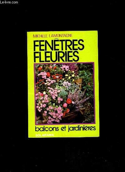 FENETRE FLEURIES - BALCONS ET JARDINS