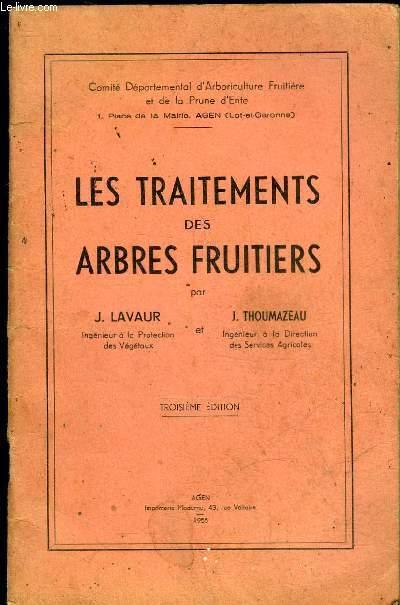 Les traitements des arbres fruitiers lavaur j thoumazeau j - Traitement arbres fruitiers ...