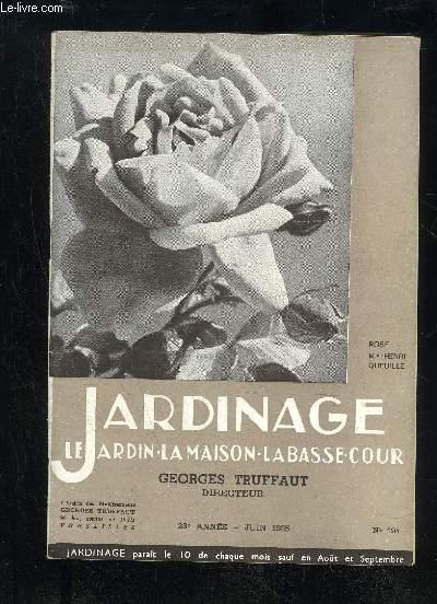 JARDINAGE LA MAISON LE JARDIN LA BASSE-COUR N° 194 - Les poètes et les roses, par Jacques desGACHONS .3Les roses de Malmaison, par Henry FUCHS.5L'hybridation des roses, par Francis GILLOT.9Les rosiers polyanthas ..13Nos plus belles roses, par F. HENRY 14L