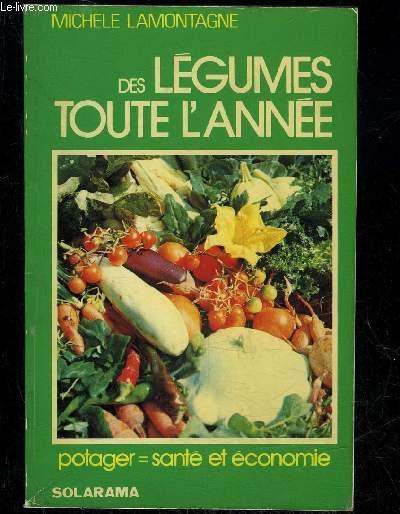 DES LEGUMES TOUTES L'ANNEE