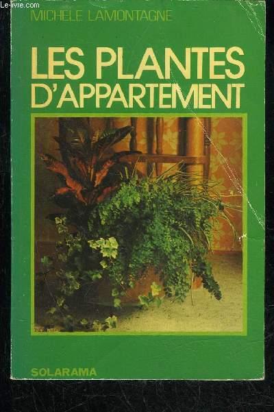 LES PLANTES D'APPARTEMENTS