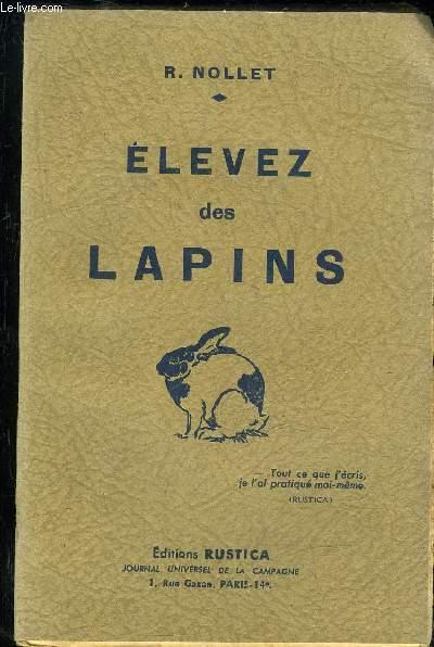 ELEVEZ DES LAPINS