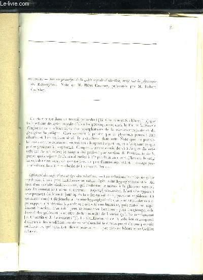 SUR UN PRINCIPE DE LA GELEE ROYALE D'ABEILLES, ACTIF SUR LA GLYCEMIE DES MAMMIFERES