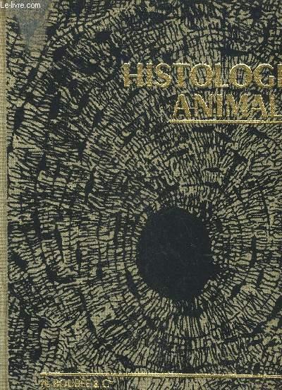 ATLAS D'HISTOLOGIE ANIMALE