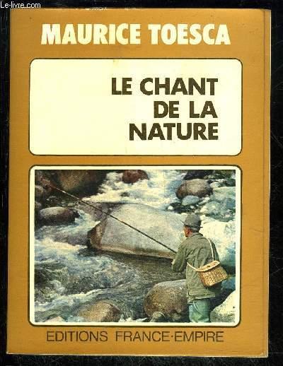 LE CHANT DE LA NATURE
