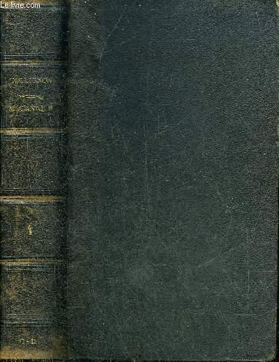 TRAITE DE MECANIQUE - QUATRIEME PARTIE DYNAMIQUE LIVRES V, VI ET VII COMPLEMENTS.