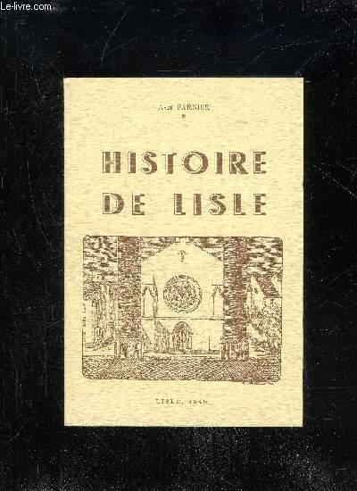 HISTOIRE DE LISLE - PERIGORD VERT.