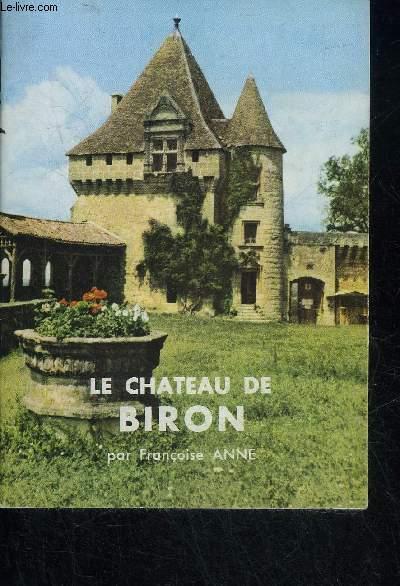 LE CHATEAU DE BIRON - PERIGORD POURPRE.
