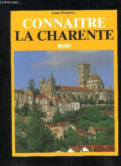CONNAITRE LA CHARENTE.