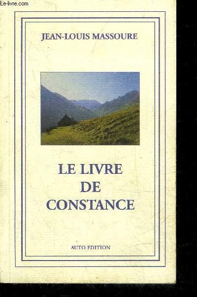 LE LIVRE DE CONSTANCE.