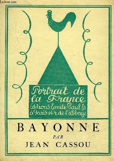BAYONNE - COLLECTION PORTRAIT DE LA FRANCE.