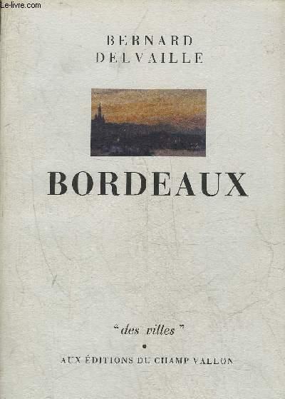 BORDEAUX - COLLECTION DES VILLES.