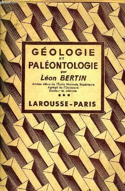 GEOLOGIE ET PALEONTOLOGIE.