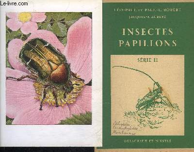 INSECTES PAPILLONS - SERIE 2.
