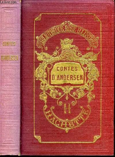 CONTES D'ANDERSEN - TRADUITS PAR SOLDI - COLLECTION BIBLIOTHEQUE ROSE ILLUSTREE.