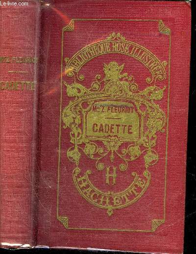 CADETTE - NOUVELLE EDITION - COLLECTION BIBLIOTHEQUE ROSE ILLUSTREE.