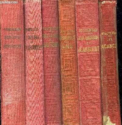LOT DE 6 OUVRAGES DE LA COMTESSE DE SEGUR DE LA COLLECTION BIBLIOTHEQUE ROSE ILLUSTREE - VOIR NOTICE .